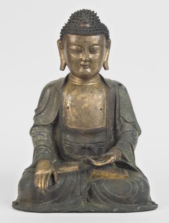 Museo Civico Medievale - statua di Buddha (f. Mario Guglielmo)