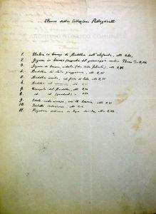 Archivio Storico Comunale: Lettera di F. L. Pullé al Prosindaco di Bologna riferita all'acquisto della Collezione Pellegrinelli (14-02-1908)
