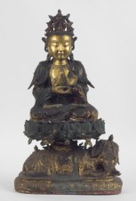 statua di samantabhadra - Museo Civico Medievale