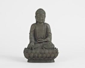 statua di un buddha della medicina - Museo Civico Medievale
