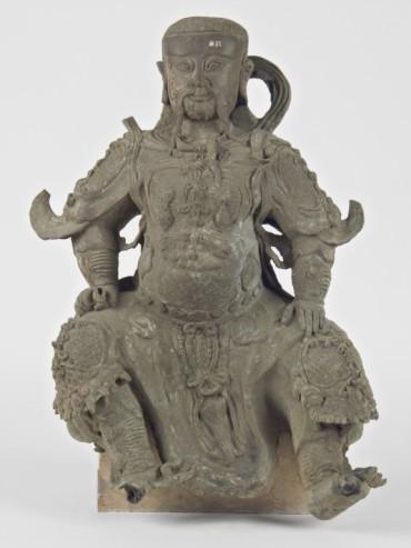 statua di Guan di - Museo Civico Medievale