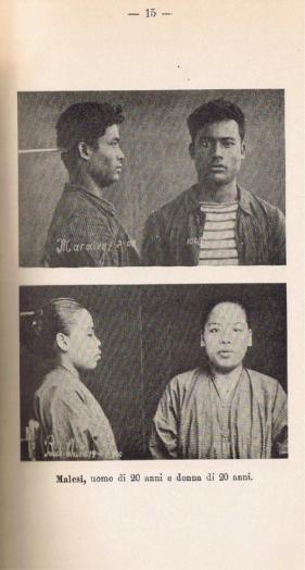 Da Il Congresso di Hanoi: Malesi (f. Istituto di Antropometria, Saigon, 1902 c.)