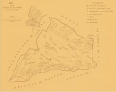 mappa diocesi Allahabad 1887-1891